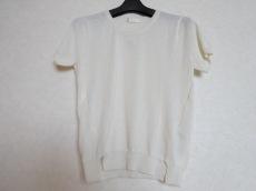 VIS(ヴィス) 半袖セーター サイズM レディース アイボリー
