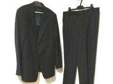 アルマーニコレッツォーニ シングルスーツ サイズ56(I) XL メンズ 黒