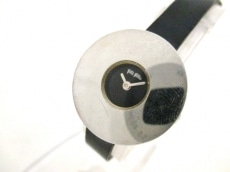 FolliFollie(フォリフォリ) 腕時計 - レディース 革ベルト 黒