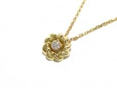 CHAUMET(ショーメ) ネックレス新品同様  K18YG×ダイヤモンド