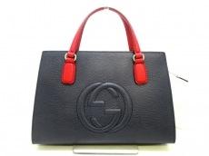GUCCI(グッチ) ハンドバッグ美品  ソーホー 431571 レザー