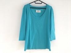 マルタンマルジェラ 七分袖Tシャツ サイズXL レディース ブルー