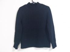 メゾンキツネ 長袖セーター サイズS レディース美品  黒 ハイネック