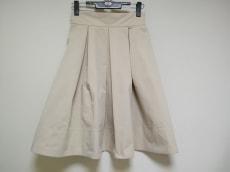 フォクシーニューヨーク スカート サイズ38 M レディース アイボリー