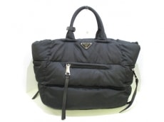 PRADA(プラダ) ハンドバッグ美品  テスートボンバー BN2616 黒