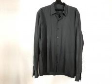 PRADA(プラダ) 長袖シャツ サイズ42 XS メンズ ダークグレー