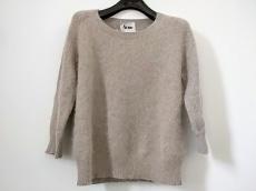 Acne(アクネ) 七分袖セーター サイズXS レディース ライトブラウン