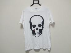 ルシアンペラフィネ 半袖Tシャツ サイズXL メンズ 白×黒×マルチ