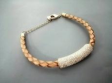 SWAROVSKI(スワロフスキー) ブレスレット 編み込み