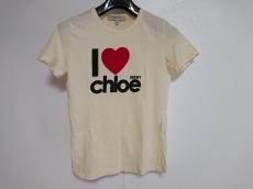 シーバイクロエ 半袖Tシャツ レディース美品  イエロー×黒×レッド
