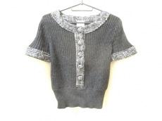 シャネル 半袖セーター サイズ38 M レディース美品  カシミヤ