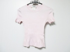 CHANEL(シャネル) 半袖セーター サイズ40 M レディース ピンク