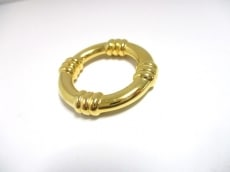 HERMES(エルメス) スカーフリング美品  ブーエ 金属素材 ゴールド