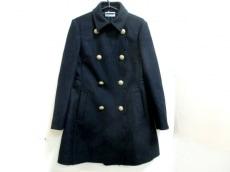 バレンチノ コート サイズ38 M レディース美品  黒 冬物