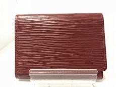 LOUIS VUITTON(ルイヴィトン) カードケース エピ美品  M5658M ルビー