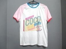シャネル 半袖Tシャツ サイズS レディース美品  白×ピンク×マルチ