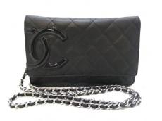 CHANEL(シャネル) 財布美品  カンボンライン A46646 黒