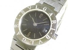 BVLGARI(ブルガリ) 腕時計 BB23SS レディース ブルガリブルガリ 黒