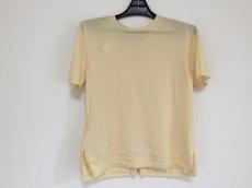 PRADA(プラダ) 半袖セーター サイズ42 M レディース美品  イエロー