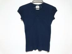 CHANEL(シャネル) 半袖セーター レディース美品  ネイビー