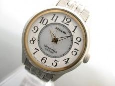 シチズン 腕時計 REGUNO E031-S058651 レディース 白×ライトグレー