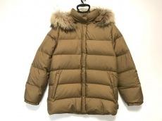 モンクレール ダウンジャケット サイズ0 XS レディース ブラウン