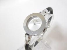 COACH(コーチ) 腕時計 0252 レディース ラバーベルト シルバー