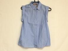 ヌメロ ヴェントゥーノ ノースリーブシャツ レディース美品  ブルー