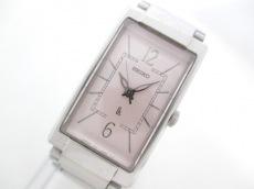 SEIKO(セイコー) 腕時計美品  ルキア 1F21-5E20 レディース ベージュ