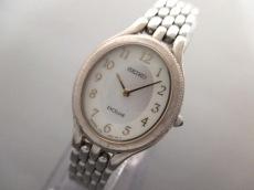 セイコー 腕時計 エクセリーヌ 1F20-6H00 レディース シェル文字盤