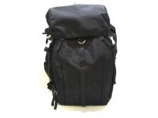 PRADA(プラダ) リュックサック美品  - VZ0056 黒 ナイロン