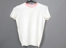 シャネル 半袖セーター サイズ38 M レディース ピンク ココマーク