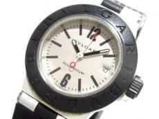 ブルガリ 腕時計美品  アルミニウム AL29TA レディース ラバーベルト