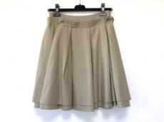フォクシーニューヨーク スカート サイズ40 M レディース ベージュ