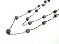 INDIVI(インディビ) ネックレス美品  金属素材×プラスチック