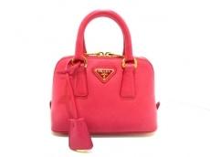 PRADA(プラダ) ハンドバッグ美品  - BL0851 ピンク ミニサイズ