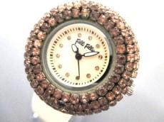 FolliFollie(フォリフォリ) 腕時計 WF2P010ZS レディース ベージュ