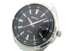 WIRED(ワイアード) 腕時計美品  V157-0AX0 メンズ 黒