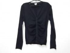 FOXEY(フォクシー) 長袖セーター サイズ40 M レディース 黒 ギャザー