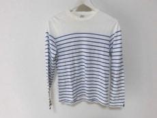 ループウィラー 長袖Tシャツ サイズS メンズ アイボリー×ブルー