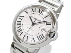 カルティエ 腕時計美品  バロンブルーLM W69012Z4 メンズ SS