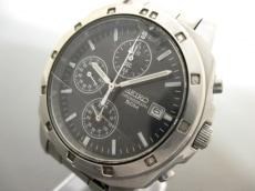 SEIKO(セイコー) 腕時計 7T92-0CA0 メンズ クロノグラフ 黒