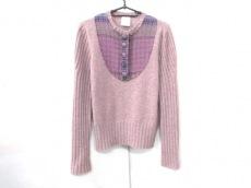 シャネル 長袖セーター サイズ42 L レディース美品  カシミヤ