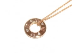 ティファニー ネックレス美品  アトラス K18PG×ダイヤモンド