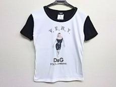ディーアンドジー 半袖カットソー レディース美品  黒×白×マルチ
