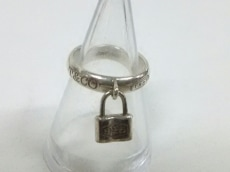 TIFFANY&Co.(ティファニー) リング美品  1837ロック シルバー