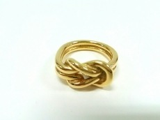 HERMES(エルメス) スカーフリング アタメ 金属素材 ゴールド