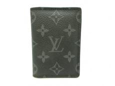 ルイヴィトン カードケース モノグラムエクリプス(キャンバス)美品