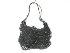 ボッテガヴェネタ ハンドバッグ - - 黒 ミニバッグ サテン×ビーズ