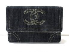 CHANEL(シャネル) 2つ折り財布 スパーリングデニム デニム